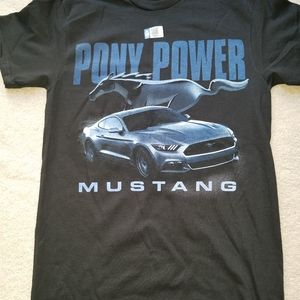 This is a brand new Ford Mustang license t-shirt.